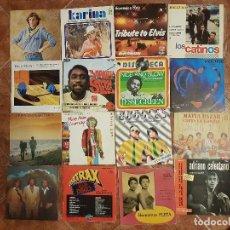 Discos de vinilo: LOTE 16 DISCOS VINILOS VARIADOS DE LOS 60-70-80. Lote 102013775