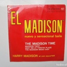 Discos de vinilo: EL MADISON ''THE MADISON TIME'' AÑO 1962 VINILO DE 7'' EPS ES DE 4 CANCIONES. Lote 102022319