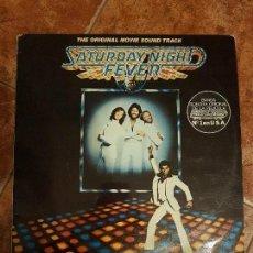 Discos de vinilo: DISCO DOBLE SATURDAY NIGHT BANDA SONORA ORIGINAL DE LA PELICULA N°1 EN USA. Lote 109389578