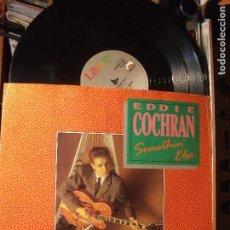 Discos de vinilo: EDDIE COCHRAN SOMETHIN ELSE MAXI UK 1988 PDELUXE. Lote 102029591