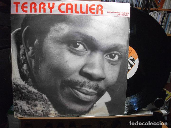 TERRY CALLIER I DON´T WANT TO SEE MYSELF MAXI UK 1990 PDELUXE (Música - Discos de Vinilo - Maxi Singles - Funk, Soul y Black Music)