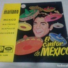 Discos de vinilo: LUIS MARIANO - EL CANTOR DE MEXICO. Lote 102034851