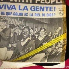 Discos de vinilo: VIVA LA GENTE. Lote 102036547
