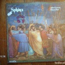 Discos de vinilo: SPHINX - JUDAS ISCARIOT - SIMON PETER . Lote 102052223