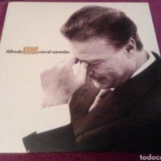 Discos de vinilo: ALFREDO KRAUS. CON EL CORAZÓN DOBLE LP. Lote 102064859