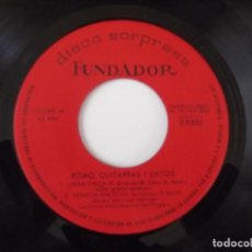 Discos de vinilo: LES FINGERS - RITMO, GUITARRAS Y EXITOS. Lote 102069299