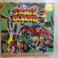 Discos de vinilo: SKATE BOARD 3 1991 2LPS DOBLE PORTADA. Lote 102071035