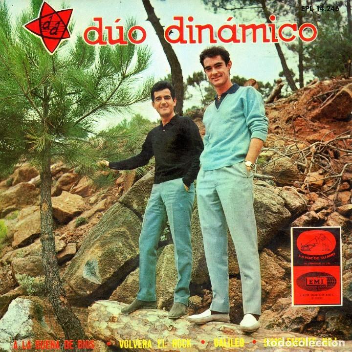 DUO DINAMICO 1966 LA VOZ DE SU AMO EPL 14.246 (Música - Discos de Vinilo - EPs - Solistas Españoles de los 50 y 60)