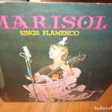 Discos de vinilo: MARISOL SINGS FLAMENCO LP EDITADO EN JAPON CONTIENE DOBLE HOJA CON LA LETRA DE LAS CANCIONES . Lote 102094643