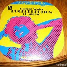 Discos de vinilo: LAURENT VOULZY - ROCKOLLECTION + LE MIROIR MAXI SINGLE RCA 1977........F. Lote 102096475