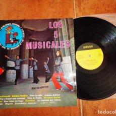 Discos de vinilo: LOS 5 MUSICALES LP VINILO 1970 III FESTIVAL INFANTIL RTVE ADIVINALO BABINA, BABINA VIVA LA VIDA . Lote 102098323
