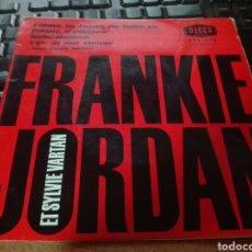 Discos de vinilo: FRANKIE JORDAN EP. Lote 102106360
