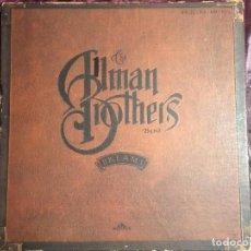 Discos de vinilo: THE ALLMAN BROTHERS BAND - DREAMS (6XLP + BOX, COMPLETO) BOWIE METALLICA. Lote 102110135