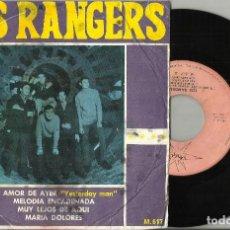 Discos de vinilo: LOS RANGERS EP TU AMOR DE AYER + 3-1966-ESCUCHADO. Lote 102111999