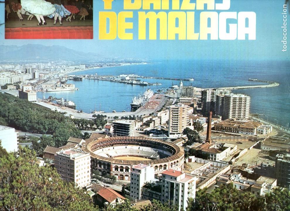 CANCIONES Y DANZAS DE MALAGA 1976 CLAVE 18-1370 S GRUPOS MIXTOS DE COROS Y DANZAS (Música - Discos - LP Vinilo - Flamenco, Canción española y Cuplé)