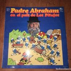 Discos de vinilo: DISCO VINILO PADRE ABRAHAM. PITUFOS. Lote 102115583