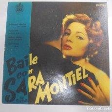 Discos de vinilo: SINGLE. BAILE CON SARA MONTIEL. 1958. HISPAVOX. VOL. 1. Lote 102121995