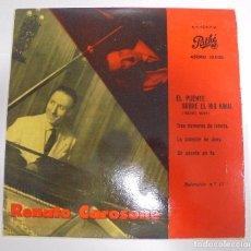 Discos de vinilo: SINGLE. RENATO CAROSONE. EL PUENTE SOBRE EL RIO KWAI. 1958. PATHE. Lote 102122215