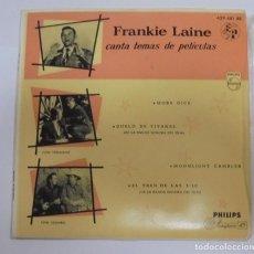 Discos de vinilo: SINGLE. FRANKIE LAINE CANTA TEMAS DE PELICULA. 1958. PHILIPS. Lote 102122655