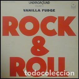 VANILLA FUDGE - ROCK & ROLL -LP ED FRANCIA 1969 - ROCK PSICODELICO (Música - Discos de Vinilo - EPs - Pop - Rock Extranjero de los 70)