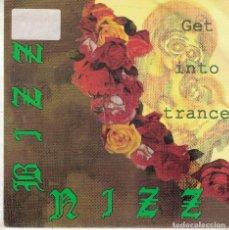 Disques de vinyle: BIZZ NIZZ - GET INTO TRANCE (TWO VERSIONS) (SINGLE PROMO ESPAÑOL, SPITFIRE MUSIC 1990). Lote 102158883