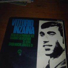 Discos de vinilo: VITTORIO INZAINA. MB1. Lote 102161135