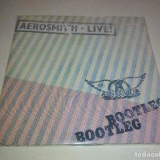 Discos de vinilo: AEROSMITH - LIVE! - JAPAN DOBLE LP JAPONES. LIBRETO Y POSTER. NUEVO. Lote 102164315
