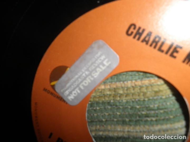 Discos de vinilo: CHARLIE McCOY - I REALLY DON´T WANT TO KNOW SINGLE PROMO - ORIGINAL USA - MONUMENT 1972 - - Foto 7 - 102168015