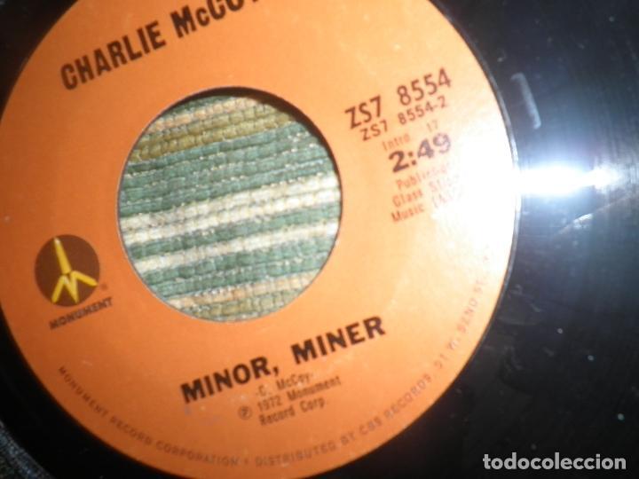 Discos de vinilo: CHARLIE McCOY - I REALLY DON´T WANT TO KNOW SINGLE PROMO - ORIGINAL USA - MONUMENT 1972 - - Foto 10 - 102168015