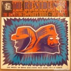 Discos de vinilo: THE RESIDENTS - THE MUSIC OF HANK WILLIAMS & JOHN PHILIP SOUSA - TORSO RECORDS. Lote 102207939