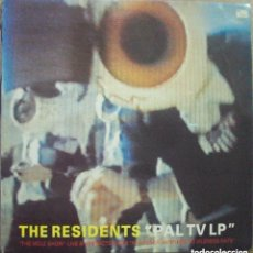 Discos de vinilo: THE RESIDENTS - PAL TV LP - DOUBLEVISION, UK, 1985. Lote 102218355