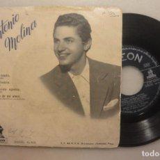Discos de vinilo: SEGUNDO DISCO ANTONIO MOLINA SOY EL CANTE. ODEON. Lote 102218927