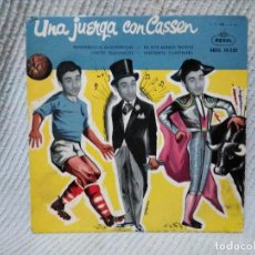 Discos de vinilo: SINGLE DEL HUMORISTA CASSEN. Lote 102237903