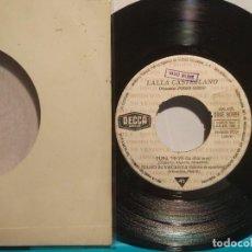 Discos de vinilo: LAIA CASTELLANO.- PUPA YEYÉ (LA CHICA YEYÉ PROMOCIONAL 1965. Lote 102266195