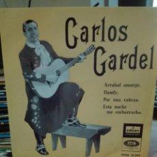 Discos de vinilo: CARLOS GARDEL -VENTA MINIMA 6 EU. Lote 102267815