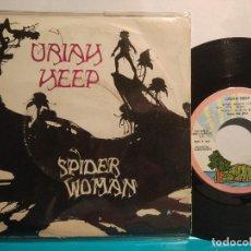 Discos de vinilo: URIAH HEEP SPIDER-WOMAN EDICIÓN ESPAÑOLA 1972. Lote 102268375