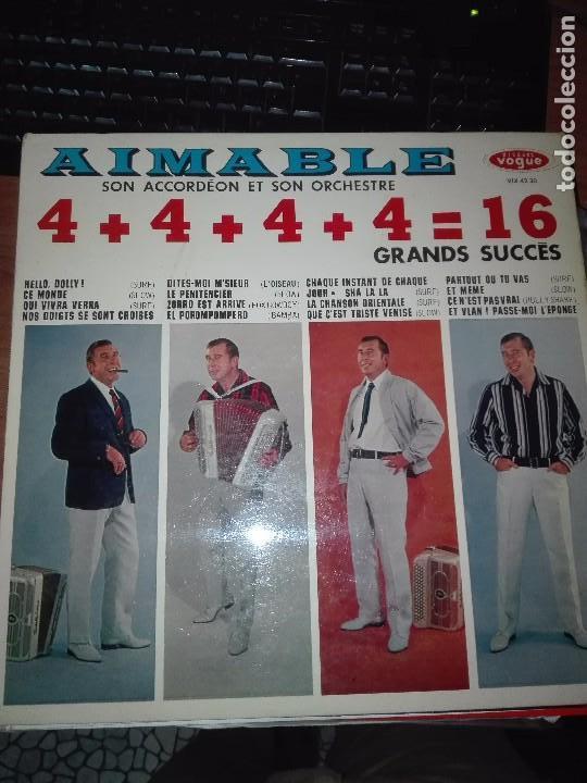 AIMABLE LP 4+4+4+4 (Música - Discos - LP Vinilo - Orquestas)