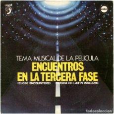 Discos de vinilo: THE VISITORS - ENCUENTROS EN LA TERCERA FASE (CLOSE ENCOUNTERS) - SG SPAIN 1978 - DISCOPHON S-537. Lote 102272243
