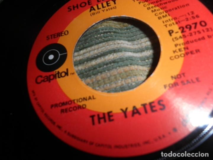 Discos de vinilo: THE YATES - I´M ONLY COUNTRY - SINGLE PROMOCIONAL - ORIGINAL U.S.A. CAPITOL RECORDS 1970 - STEREO - - Foto 6 - 102276735