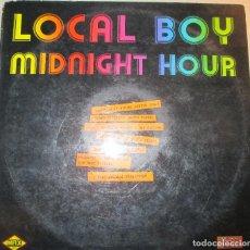 Discos de vinilo: LOCAL BOY / MIDNIGHT HOUR / MAXI 12 PULGADAS - ITALO. Lote 102298003