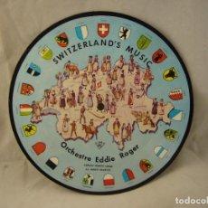 Discos de vinilo: SWITZERLAND'S MUSIC ORCHESTRE EDDIE ROGER. Lote 102311907