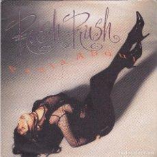 Discos de vinil: PAULA ABDUL,RUSH RUSH EDICION INGLESA DEL 91. Lote 102316815