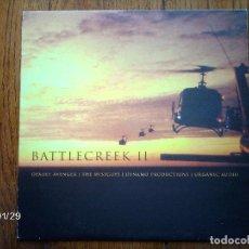 Discos de vinilo: BATTLECREEK - DEADLY AVENGER + THE WISEGUYS + DYNAMO PRODUCTIONS + ORGANIC AUDIO . Lote 102319707
