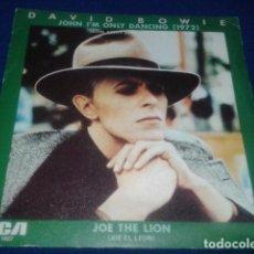 Discos de vinilo: DAVID BOWIE SINGLE PROMO ( JOHN I´M ONLY DANCING 1972 ) RCA ESPAÑA PB - 1887 - EDITADO MADRID 1980. Lote 102327423