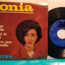 Discos de vinilo: SONIA CONCIERTO PARA ENAMORADOS + 3 TEMAS. MUY BUSCADO. Lote 102330759