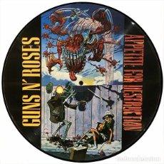 Discos de vinilo: GUNS AND ROSES LP APPETITE FOR DESTRUCTION PICTURE DISC COLECCIONISTA. Lote 211705528