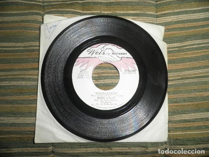 Discos de vinilo: BOBBY HOLLEY - MOVING DANCER / BAY, I LOVE YOU - SINGLE ORIGINAL U.S.A. - WEIS RECORDS 1970 - Foto 6 - 102346323