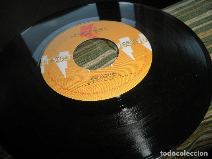 Discos de vinilo: KIM WESTON - IF I HAD IT MAY WAY / GONNA BE ALRIGHT - SINGLE ORIGINAL U.S.A. - VOLT RECORDS 1971 - - Foto 6 - 102347127