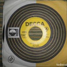 Discos de vinilo: THE ELVES - AMBER VELVET / WEST VIRGINIA SINGLE PROMOCIONAL ORIGINAL U.S.A. - DECCA 1969 - STEREO -. Lote 102348607