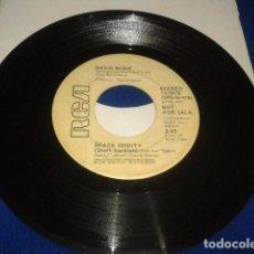 Discos de vinilo: DAVID BOWIE SINGLE PROMO ( SPACE ODDITY 2 VERSIONES LONG Y SHORT ) 1973 RCA MADE IN USA. Lote 102349207